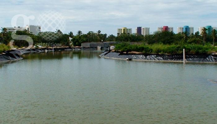 Lagos artificiales geosint ticos y geomembranas for Filtros para lagos artificiales